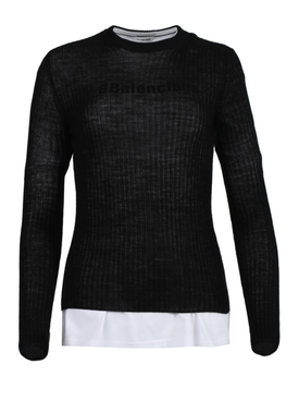 Layered Knit Jumper