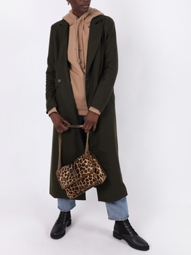 Forest Green Side Closure Coat
