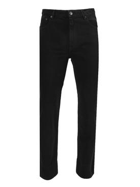 Pitch Black Denim Pants