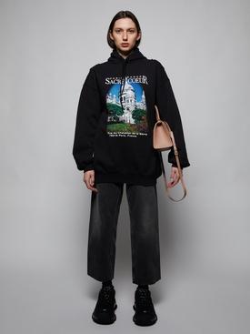 Sacré Coeur sport hoodie, black
