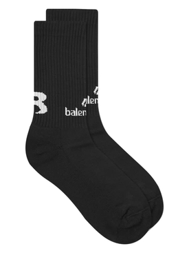 Soccer Socks BLACK/WHITE