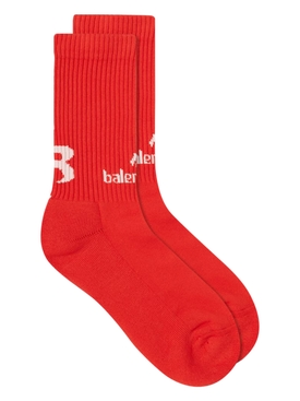 Soccer Socks RED/WHITE