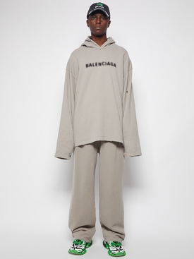 Jersey jogging pants steel grey