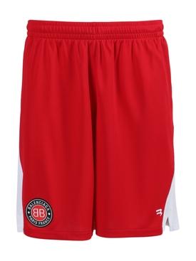 Logo Soccer Shorts, Red