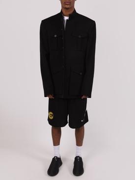 Logo Soccer shorts BLACK