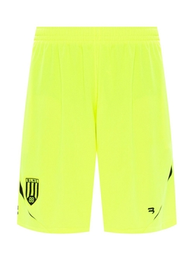 Logo Soccer shorts FLUORESCENT YELLOW