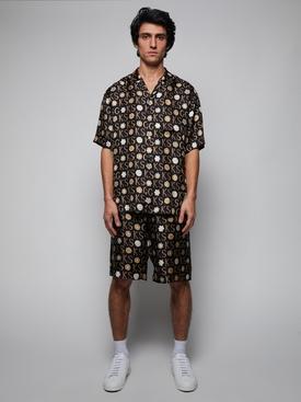 x Ken Scott Silk Bowling Shirt