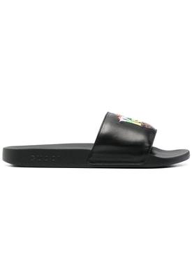 Prodigy D'amor Slide Sandals, Black