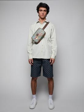 GG Stripe Fil Coupe Cotton Shirt