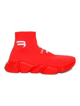 Speed LT Soccer sneaker Intense Red and White