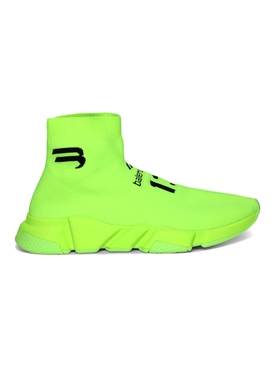 Speed LT Soccer Sneakers, Lime Yellow