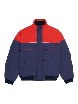 Ski Bomber, Navy and red
