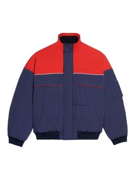 Ski Bomber, Navy and red