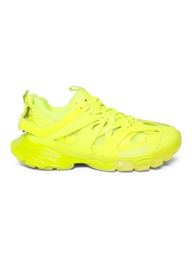 TRACK CLEAR SOLE SNEAKER, FLUORESCENT YELLOW