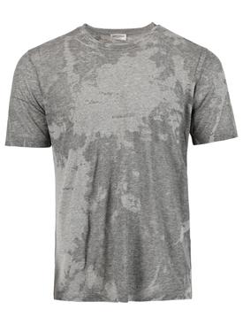 Dévoré Classic Fit T-shirt, Heather Grey