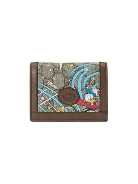 X Disney Donald Duck Card Case Wallet