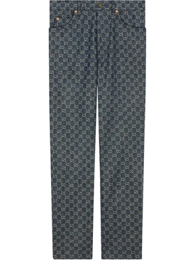 GG Monogram Jeans