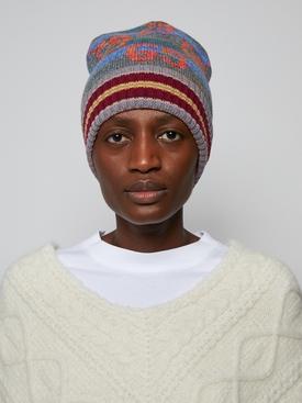 GG Striped Wool Lamé Hat