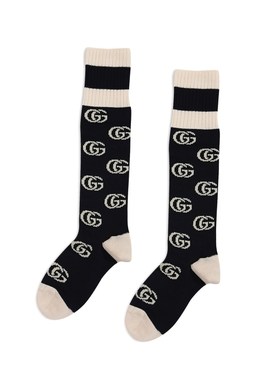 Calve Length Monogram socks