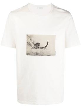SURFER T-SHIRT, OFF WHITE