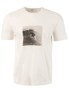 Surfer Graphic T-shirt, off white