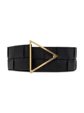 Intreccatio Belt BLACK-GOLD