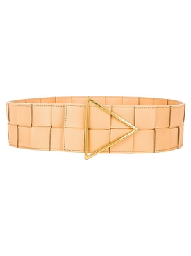 Intreccatio Belt ALMOND-GOLD