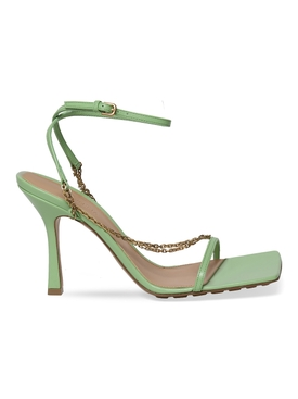 STRETCH SANDALS PISTACHIO GREEN