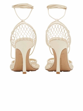 Stretch Sandals, Mesh Toile