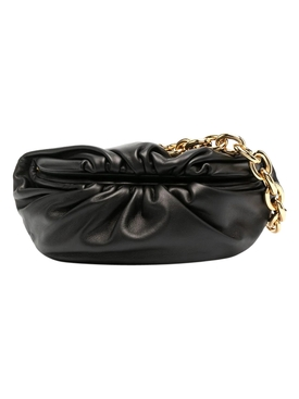 THE MINI POUCH BELT BAG Black/Gold