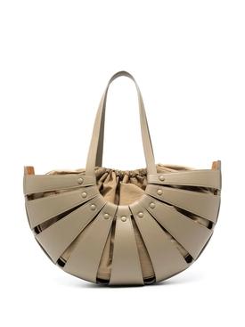 The Shell Handbag Taupe