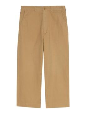 Cotton canvas pants