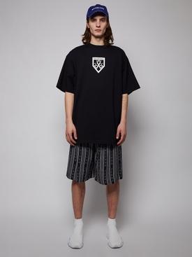 Scissors Flatground T-shirt, BLACK AND WHITE