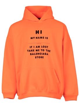 Hi my name is hoodie fluorescent orange
