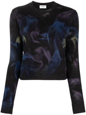 Multicolored Tie-dye Logo Sweatshirt
