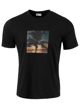 VHS Sunset T-shirt, Black