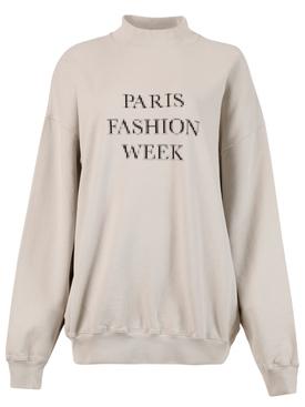 Paris Fashion Week Sweatshirt, Cement Grey