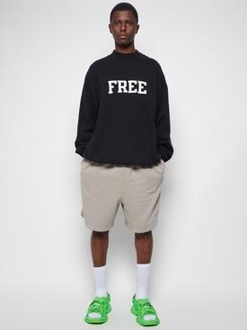 Free Logo Sweatshirt Black