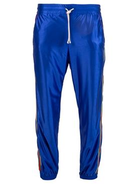 Iconic Web Jogger Pants BLUE
