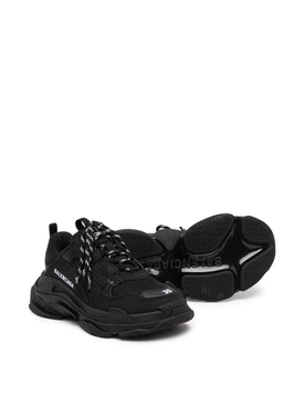 Kids Triple S Sneaker, Black