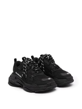 Kids Triple S Sneaker, Black