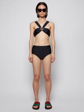 Jersey Bikini with Interlocking G