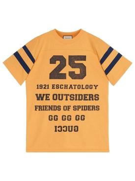 1921 eschatology t-shirt crop yellow