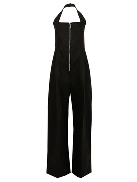 ZIPPED JUMPSUIT, FONDANT