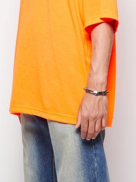 Silver-tone Zip Bracelet