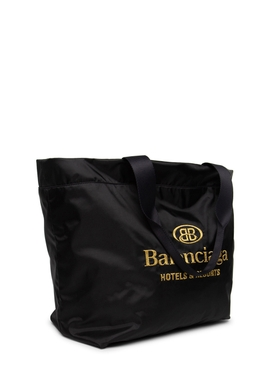 Large Hotels and Resorts Tote Black