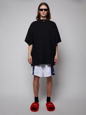 Oversized Organic Cotton T-shirt, BLACK