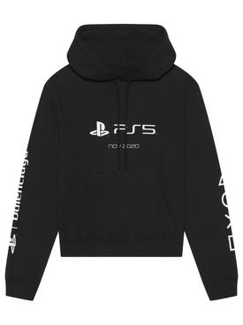 X PlayStation PS5 Logo Hoodie Black