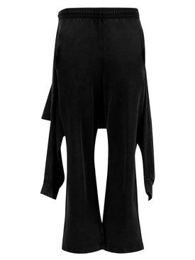 Hybrid sweatpants, black