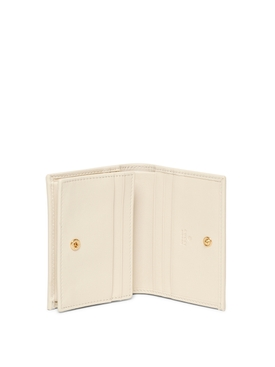 leather card case mystic white